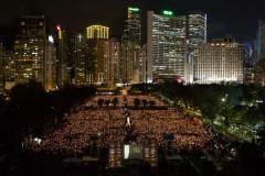 Hong Kong's Tiananmen vigil organiser defies police probe