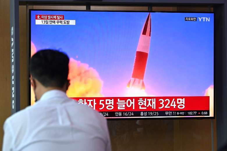 North Korea fires missile, insists on right to weapons tests
