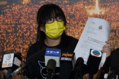Hong Kong judge rejects activists' jail-over-bail request
