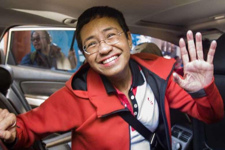 Maria Ressa: Philippine pillar of press freedom