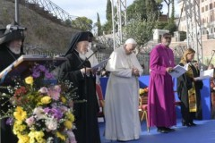Pope pleads for peace, compassion, care for the earth