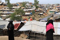 Rohingya refugees fear for lives after leader's murder in Bangladesh camp