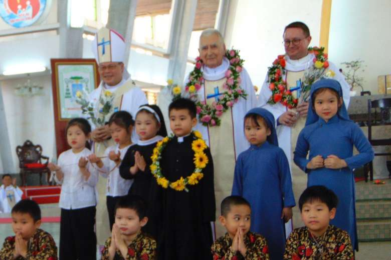 Vietnam nuns inspired to serve others by French missionary