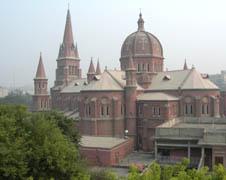 Sacred Heart Cathedral in Lahore, Pakistan